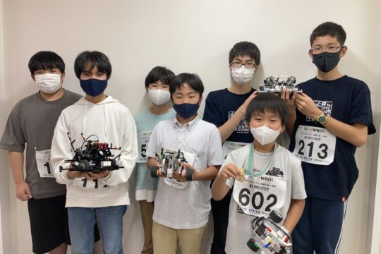 WRO2021 全国優勝!!